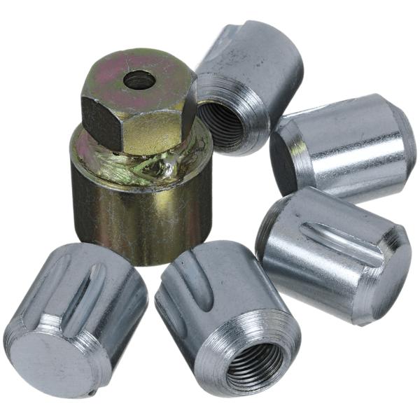 T.R.L Set of 5 Locking Wheel Nuts - 16 x 1.5