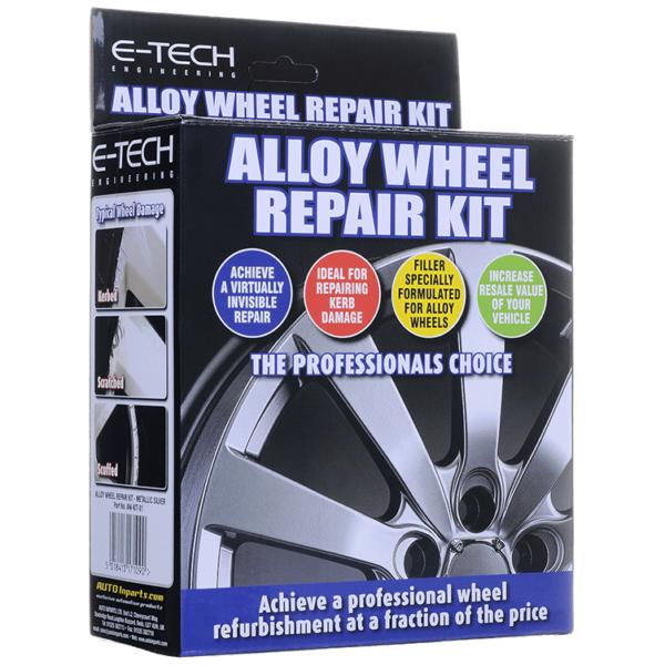 VBS Alloy Wheel Repair Kit - Silver
