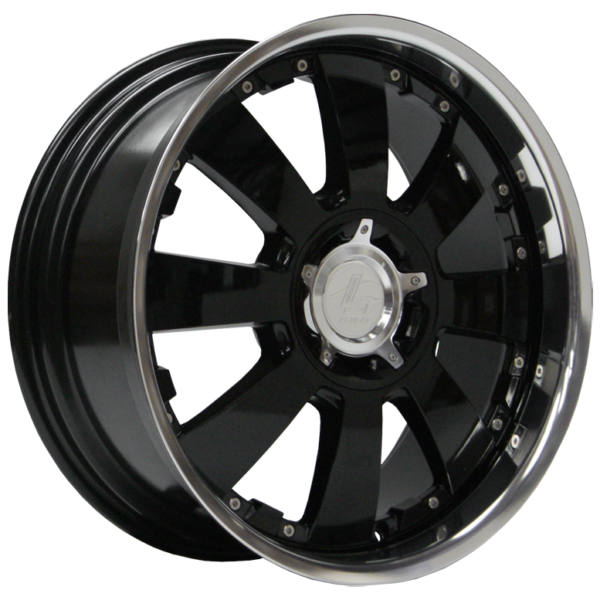 "20"" x 8.5"" Lenso Concerto Gloss Black/ Polished Lip ET22"
