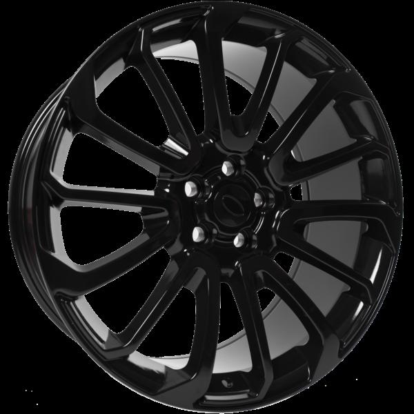 "22"" x 10"" OEM Style FJE06 Gloss Black ET45"
